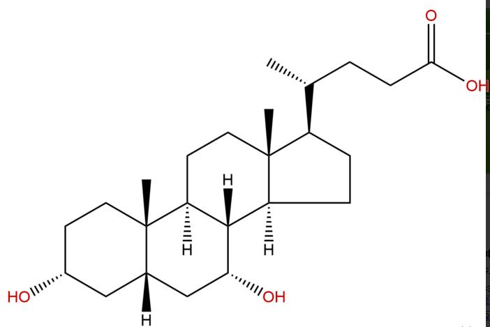 鹅去氧高中CAS:474-25-9函数对照品标准品中药上海胆酸数学图片